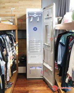 máy giặt quần áo bằng nước nóng LG styler