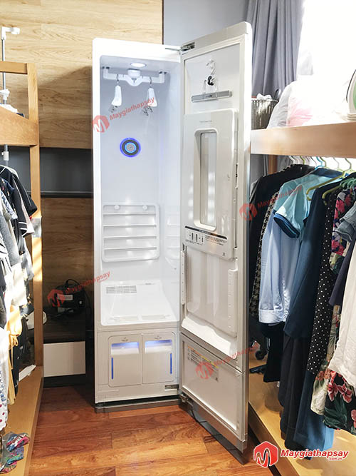 máy giặt hấp sấy - tủ giặt khô LG styler
