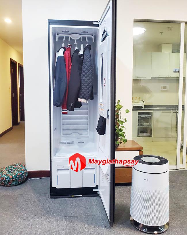 máy giặt hấp sấy - tủ giặt khô LG styler S5GFO